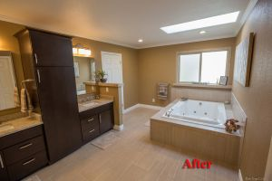 Bathroom Remodel Anchorage anchorage master bathroom renovation - home remodeling contractor